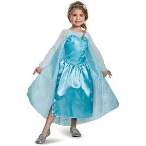 New Frozen Elsa Toddler Costume with Ring